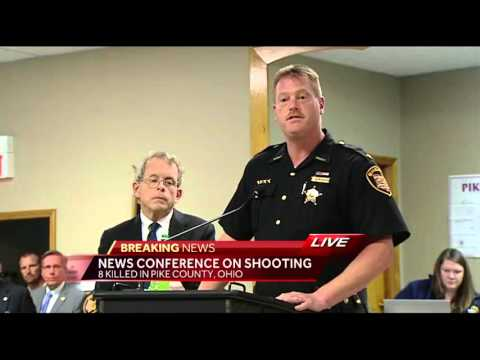 Pike County update on 8 killed, search for gunman