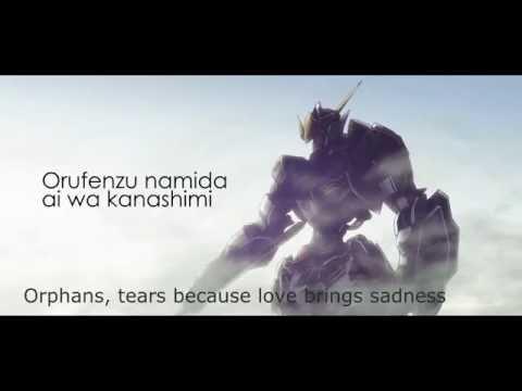 GUNDAM IRON-BLOODED ORPHANS - Misia  オルフェンズの涙 Song Cover
