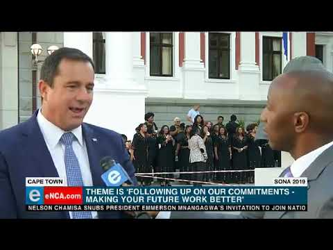 DA's John Steenhuisen speaks ahead of Sona 2019