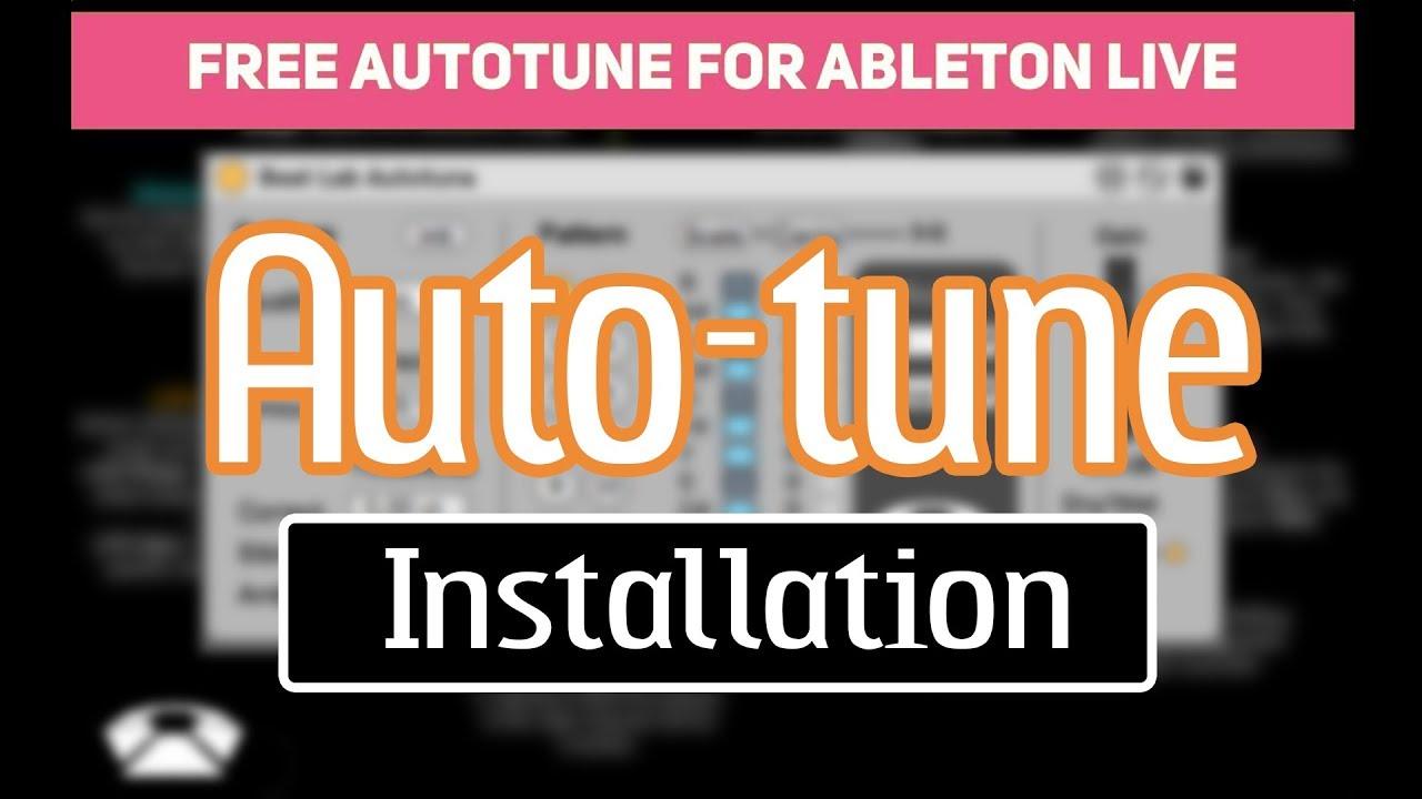 installing plugins ableton