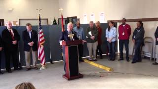 US Sen. Ben Cardin remarks to Crisfield, MD - Sandy Relief Efforts