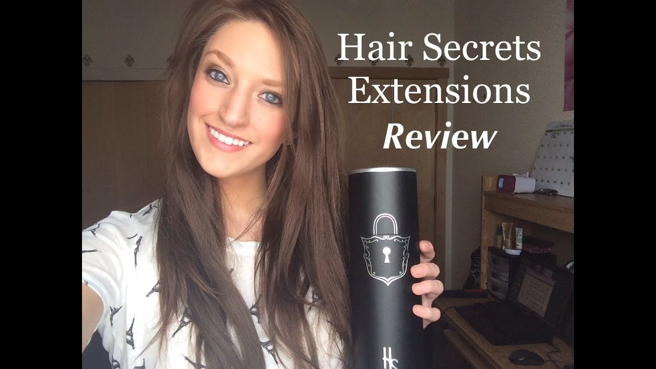 Hair secrets extensions review and how to clip them in youtube pmusecretfo Images