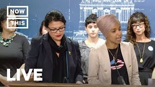 Reps. Ilhan Omar and Rashida Tlaib Speak About Israel, and Trump, From YouTubeVideos