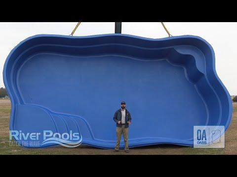 Best Freeform Fiberglass Pool-Oasis by River Pools
