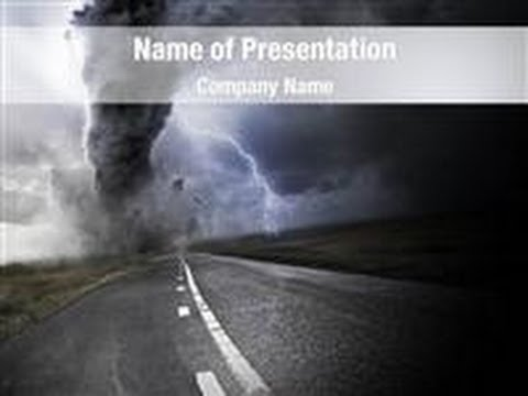 tornado powerpoint template backgrounds - digitalofficepro #03031, Modern powerpoint