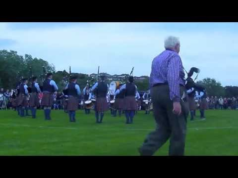 Cullybackey Pipe Band - Borough Of Ards Championships 2014 - MSR