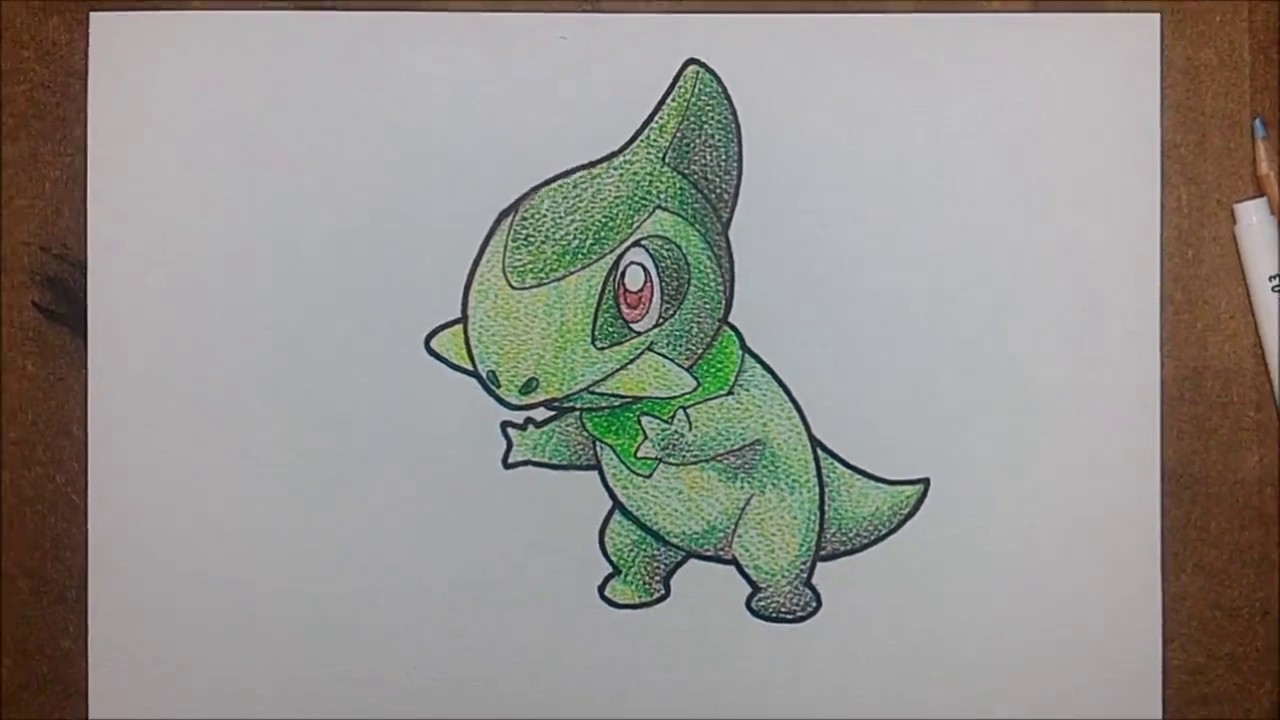 How To Draw Pokemon Axew Kibago From Pokemon Speed Drawing Anime