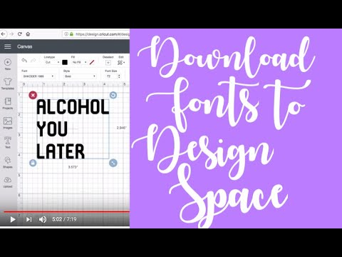 How To Install Fonts Onto Your Cricut Explore with an apple computer,  Creative Fabrica