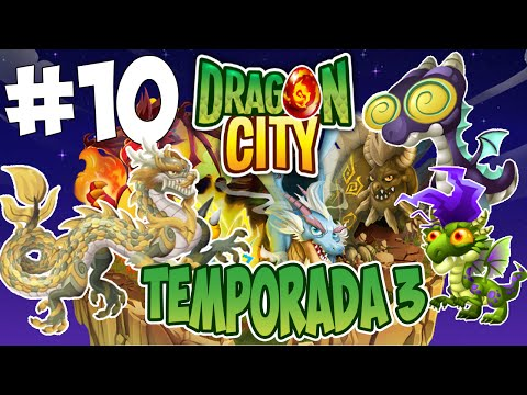 Dragon City T3 - Capitulo 10 - Dragon Marfil, Dragon Estresado y Dragon Hipnosis