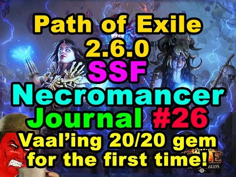Download Video Path of Exile 2.6.0: SSF WITCH/NECROMANCER JOURNAL ...