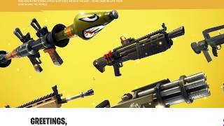 Fortnite - Battle Royal - New V4.2 Patch Notes! Famas and Apples?