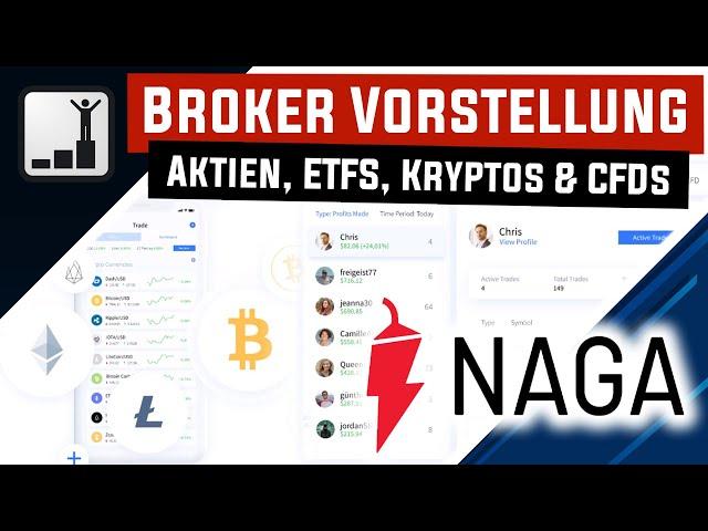 Trading Plattform NAGA 🏆 Kryptowährungen, Aktien,  ETFs, CFDs und Forex an einem Ort handeln 💸