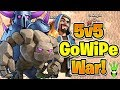CAN GOWIPE WIN A WAR? - 5v5 Friday GoWiPe Challenge - Clash of Clans - GoWiPe in War