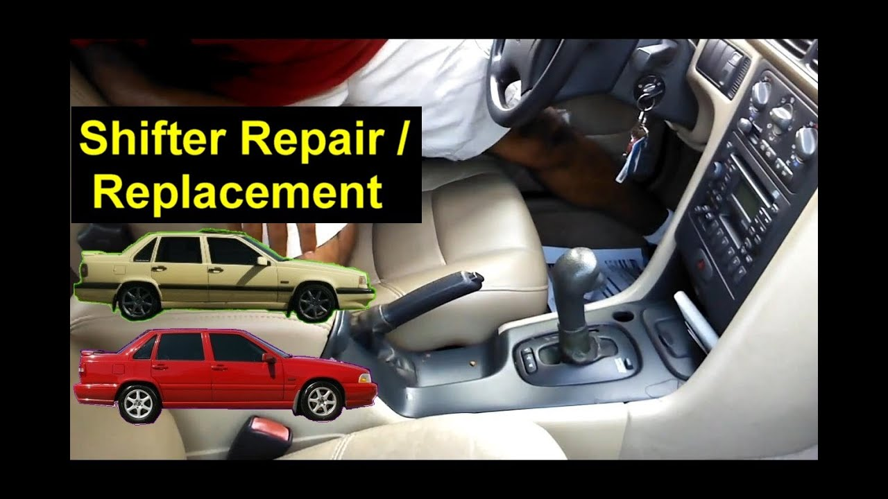 Shifter Knob Replacement Shifter Button Repair Volvo 850