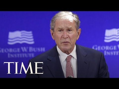 Former President George W. Bush Says Russia Meddled In The 2016 Presidential Election | TIME