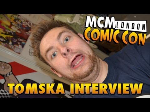 TomSka Interview // MCM London Comic Con: May 2014