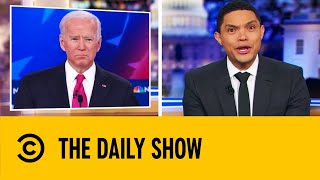 Biden's Poor Choice Of Words Led To Trainwreck Debate Performance | The Daily Show With Trevor Noah