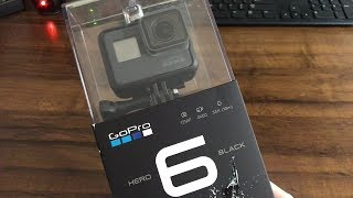 GoPro Hero 6 Black Unboxing/Setup/Review