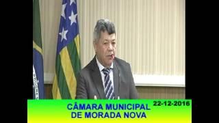 Joacir Moreira Pronunciamento 22 12 16