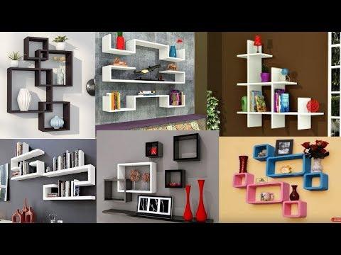 50 Modern corner wall shelves design - Home wall decoration ideas 2019