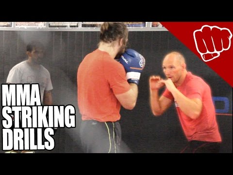 MMA striking drills