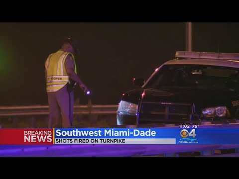 Report: Florida Highway Patrol Trooper's Vehicle Shot At On Florida Turnpike