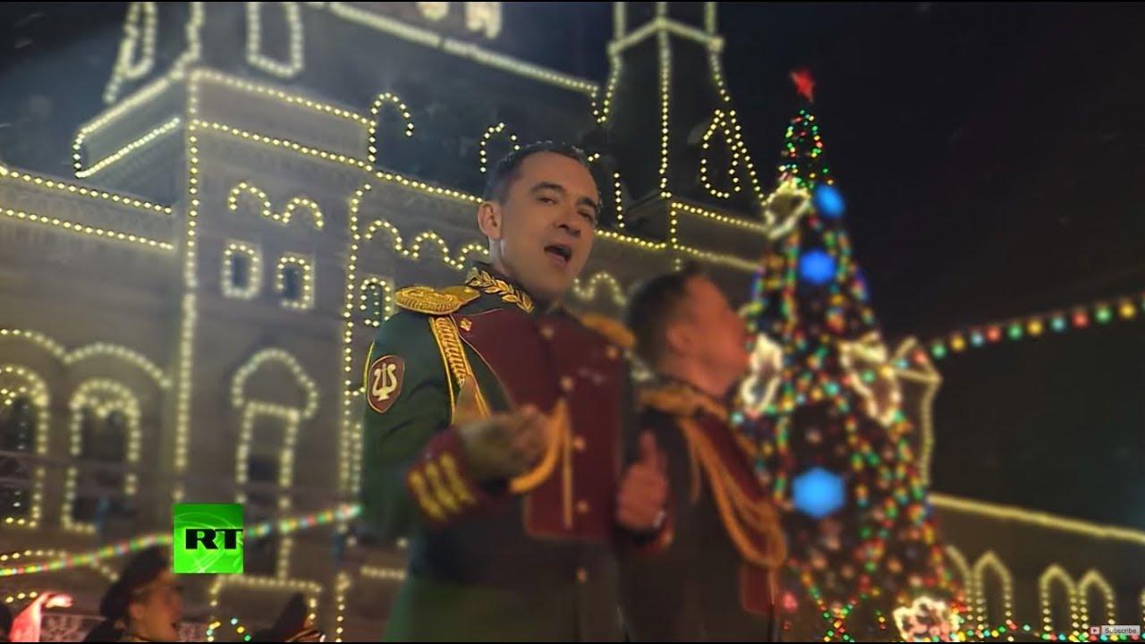 Nagyon meleg az orosz Nemzeti Gárda karácsonyi klipje