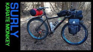 Drop Bar Surly Karate Monkey Bikepacking Gear List