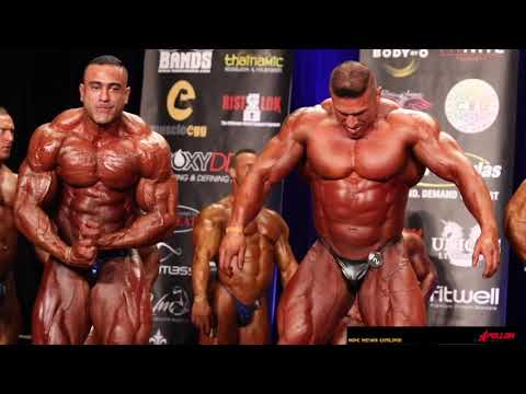 2019 IFBB California Pro Mens Bodybuilding Prejudging Video