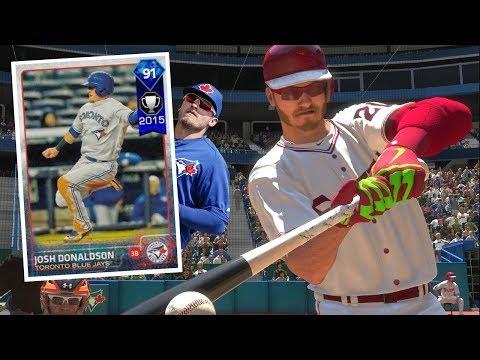*NEW* MVP JOSH DONALDSON DEBUT! MLB THE SHOW 18 DIAMOND DYNASTY