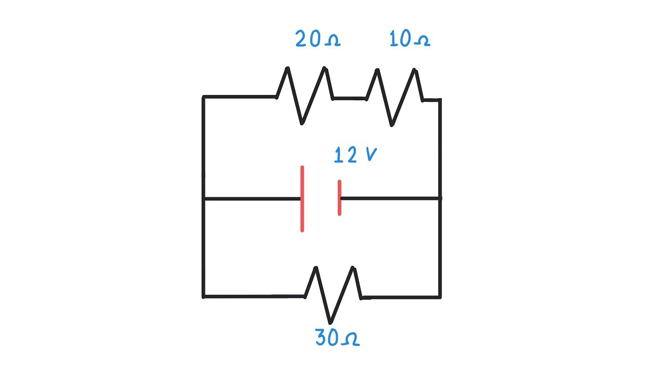 circuito en paralelo - ejercicio desde cero
