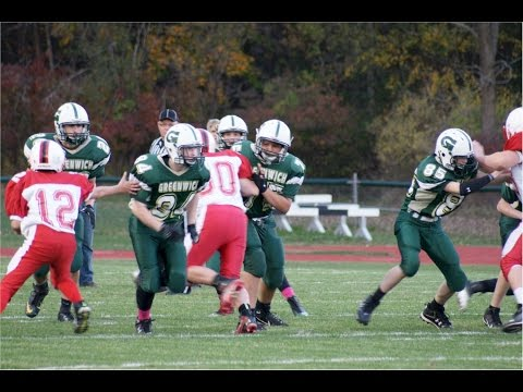 Greenwich Witches vs. Mechanicville Raiders Modified Football Oct 16, 2014