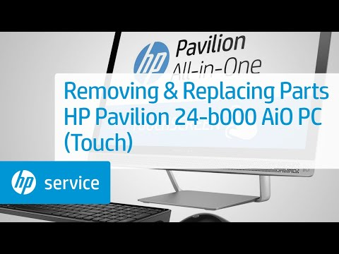 HP Pavilion 24-b000 All-in-One Desktop PC Series (Touch) Teardown | HP Computers | HP