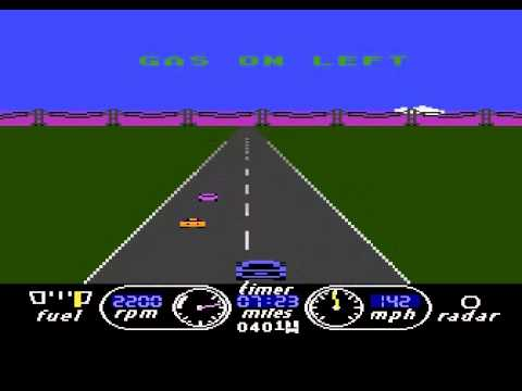 The Great American Cross-Country Road Race (1985) By Activision