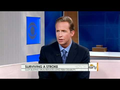 Surviving a stroke with clot-busting drugs