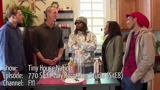 Juancho's Music On T.v - Tiny House Nation S4e8