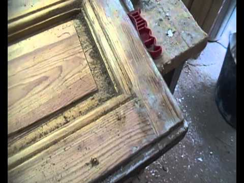Decapado puertas viejas 01 youtube - Pintar puertas viejas ...