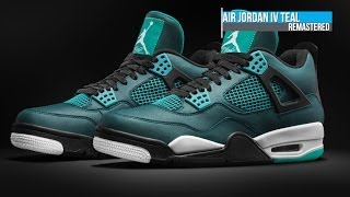 "Air Jordan 4 ""Teal"", Jordan 4 Oreo, Adidas Loop, Retros Remastered - Today in Sneaks"