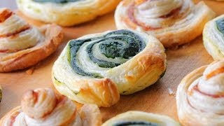 Puff pastry rolls recipe - for kids over 12 months