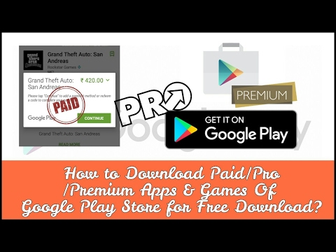 Download Paid Apps for Free on Android Mobile