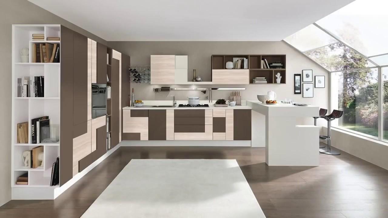 Cucina moderna Lube modello Creativa - YouTube