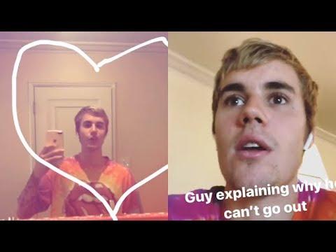 Justin Bieber, hats collection & Spiderman