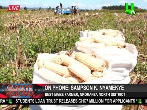 2018 Farmers Day: Sampson K. Nyamekye wins Nkoranza North District best maize farmer