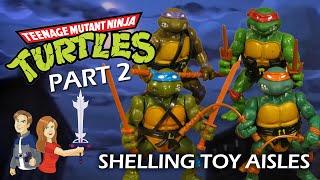 Teenage Mutant Ninja Turtles: Part 2: Shelling Toy Aisles - Vintage Toy Review Playmates TMNT