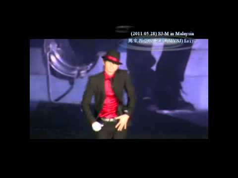 【MYSJ】110528 SUPER JUNIOR M in M'sia - Eunhyuk's solo - Michael Jackson Dance