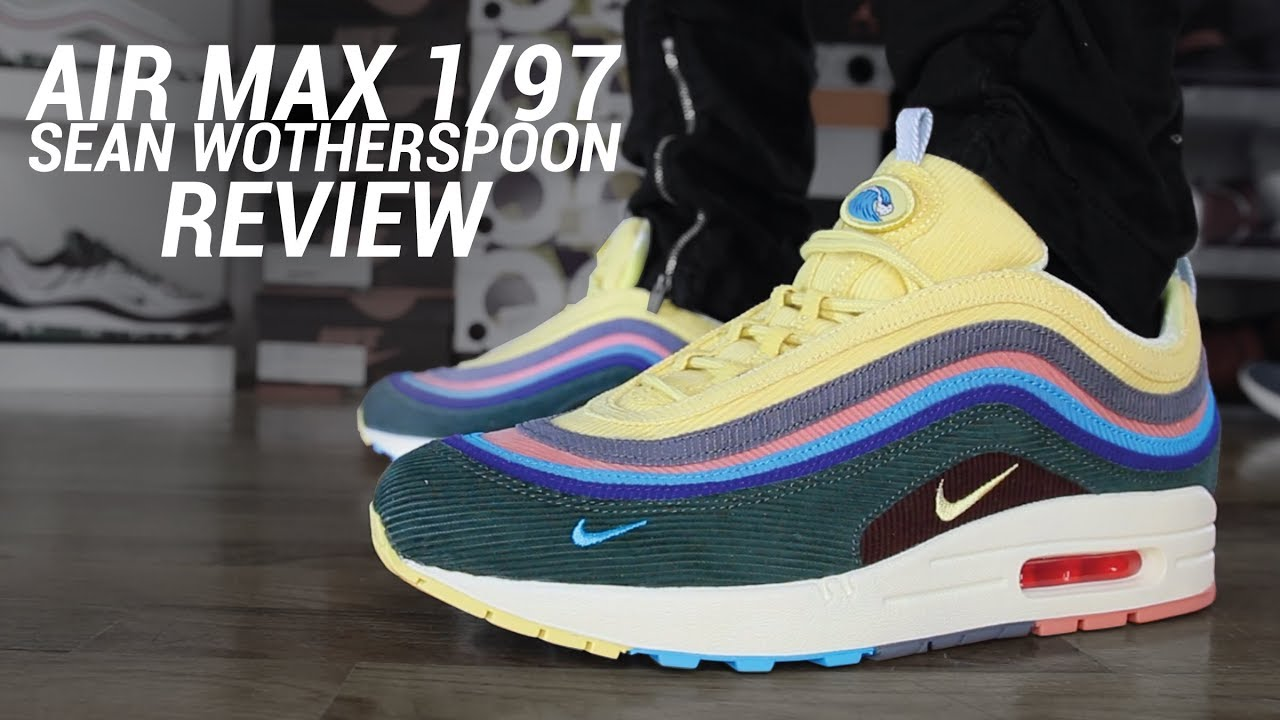 separation shoes 1cc3d 3fe38 NIKE AIR MAX 1 97 SW SEAN WOTHERSPOON REVIEW