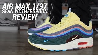 NIKE AIR MAX 1/97 SW SEAN WOTHERSPOON REVIEW