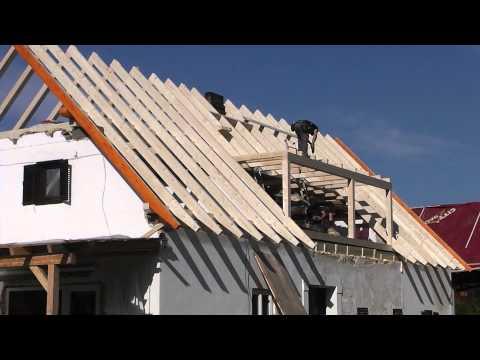 Neues Dach aufstellen