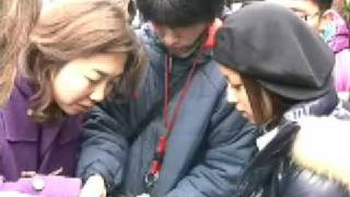 Making of MapleStory Japanese TV commercials (January 2009) + Inter...