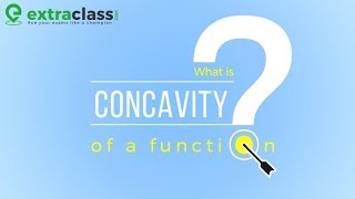 What is concavity of a function | Extraclass.com